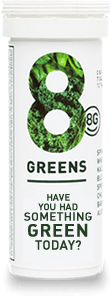 Green Powder in Tablet Form from 8Greens via USALoveList.com