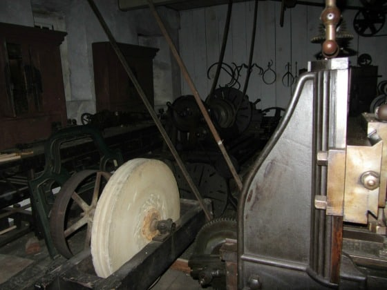 Inside Wilkinson Mill