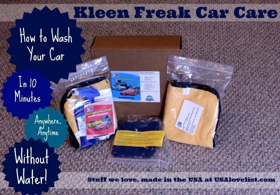 Kleen Freak 10 Minute Detail: American Made Car Care {Review}