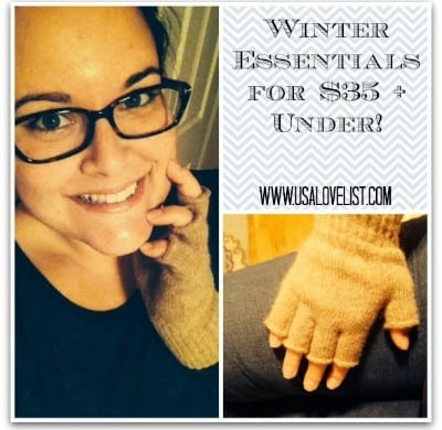 Winter Essentials $35 and Under From Golden Touch Naturals