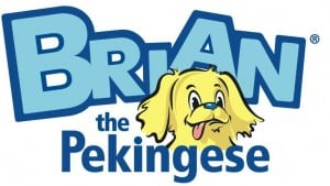 Brian the Pekingese made in the USA kid's pajamas