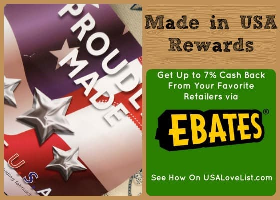 Cash Back On Made in USA Shopping From Wal-mart, Home Depot, Sears and More!