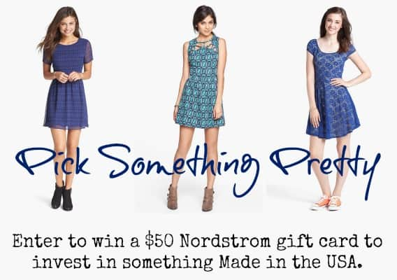 Enter to Win a $50 Nordstrom Gift Card and Pick Something Made in the USA