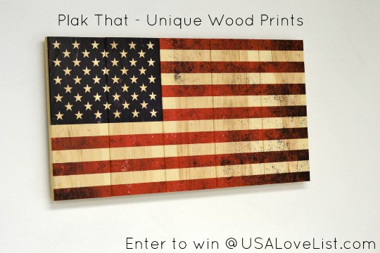 Products Made in Maryland - Unique Wood Prints
