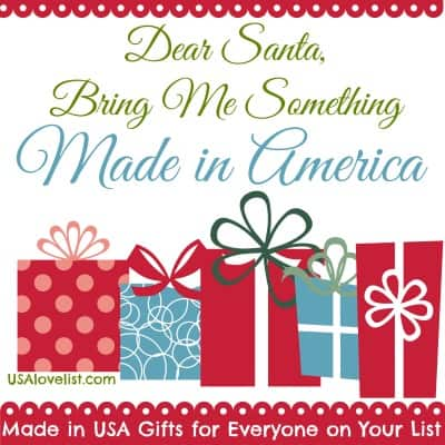 Our Present to You: Made in USA Gift Guides For Everyone on Your List