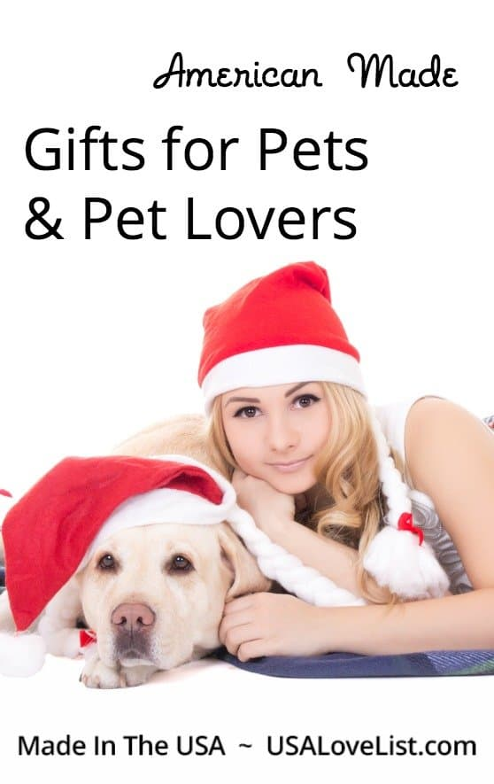 Gifts for pets & gifts for pet lovers American made gift ideas