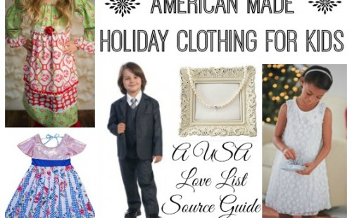 Kids Holiday Clothing