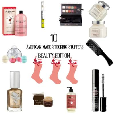 Made in USA Stocking Stuffers: 10 Quality Beauty Products We Love