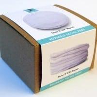 Facekins Washable & Reusable Fabric Facial Pads, $17