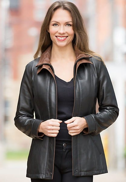 Made in USA leather and sheepskin coats available at Overland