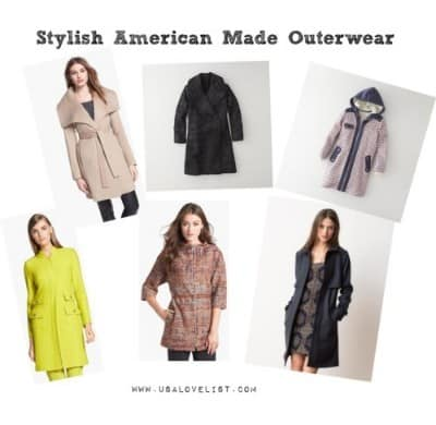 Stylish American Made Outerwear