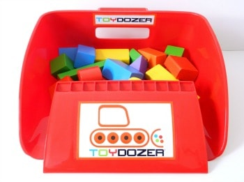 Toydozer | Made in USA | Lego scooper