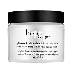 Winter skin therapy | Philosophy hope in a jar