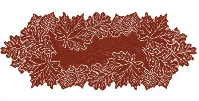 Heritage Lace Leaf Collection | Thanksgiving dinner table decorations | Thanksgiving centerpiece | Made in USA