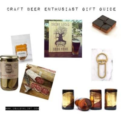 Beer Lovers Gift Guide - All Things Made in USA