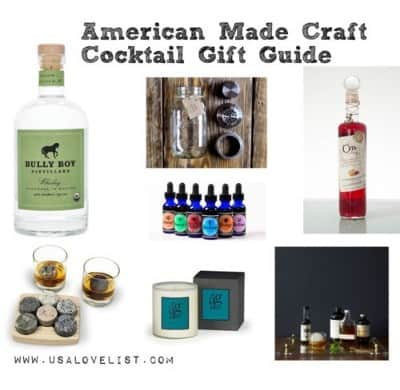 American Made Craft Cocktail Gift Guide