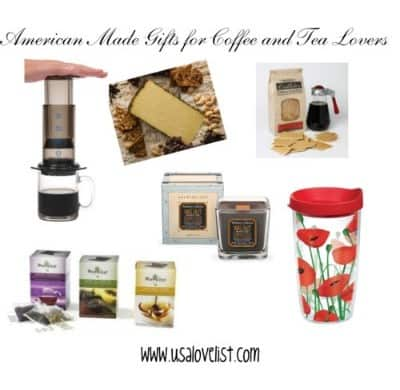 American Made Gifts For Coffee and Tea Lovers