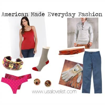 Everyday American Made Fashion Gifts Starting at $14