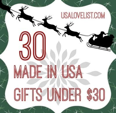 Jill's Picks: 30 American Made Gifts Under $30