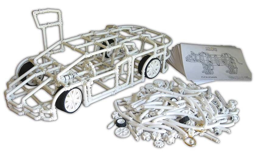 Made in USA Building Toys: CrossBeams advanced building kits #usalovelisted #STEM #toys