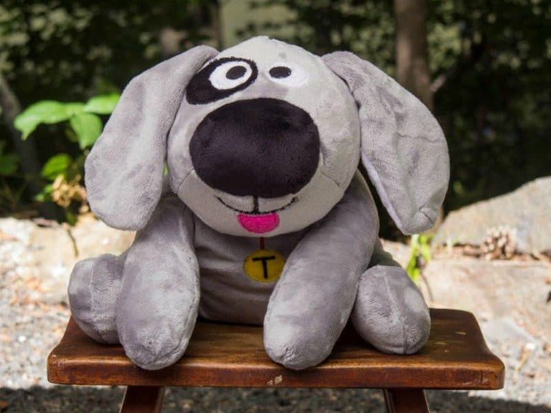 Trouble the Dog Is A Rare American Made Stuffed Animal and a True Friend