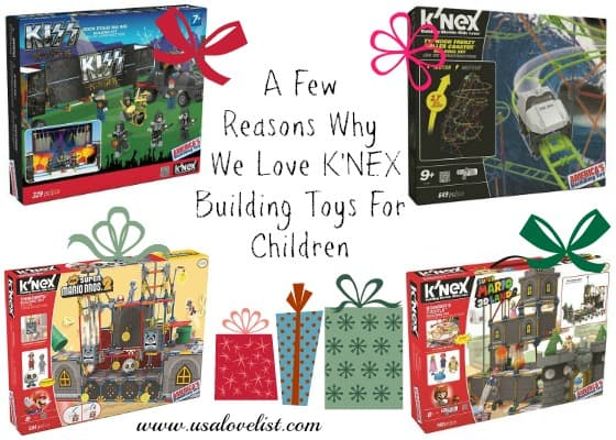A Few Reasons Why We Love K'NEX Building Toys for Children