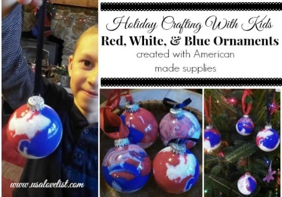 Holiday Ornaments, Crafting with Kids