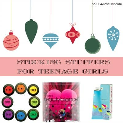 Cool Stocking Stuffers stocking stuffers for teenage girls: made in the usa beauty
