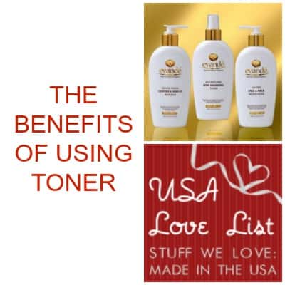 The Benefits of Using Facial Toner with Evande Made in USA Skincare System
