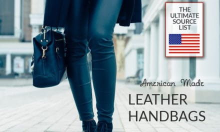 Leather Handbags Made in USA: Must See Brands Source List
