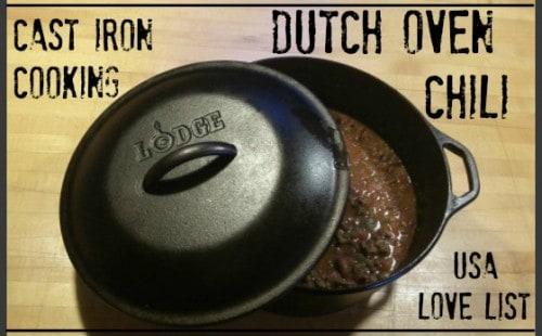 Dutch Oven Chili