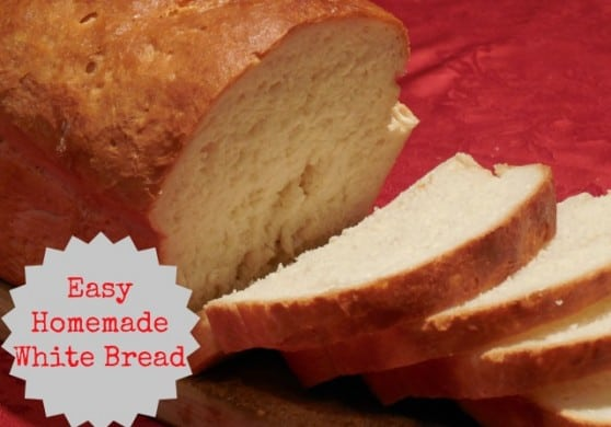 Easy Homemade White bread using KitchenAid mixer