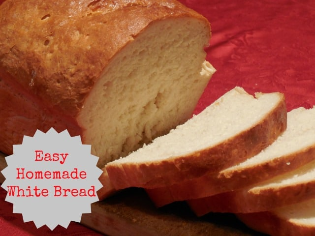 Homemade White Bread Recipe using a KitchenAid Mixer