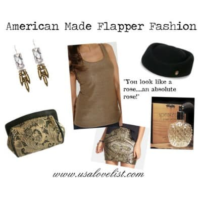 Gatsby inspired styles to try today: American Made Flapper Fashion