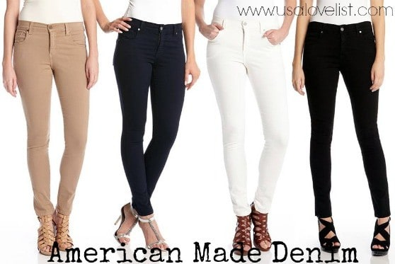 Karen Kane American Made Denim via USALoveList.com