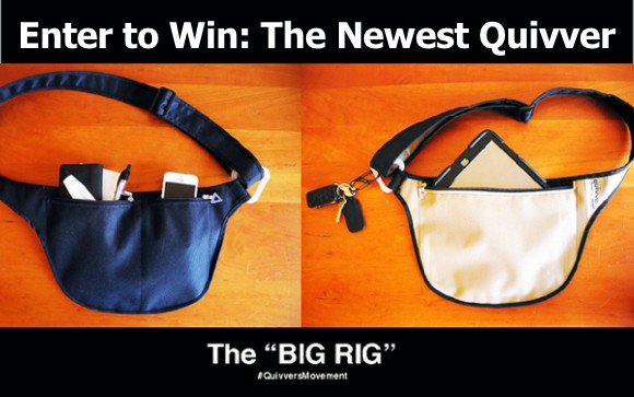 "New Quivvers ""Big Rig"" Keeps Essentials Close On The Go: Enter to Win"