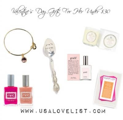 Valentine's Day Gifts Under $30