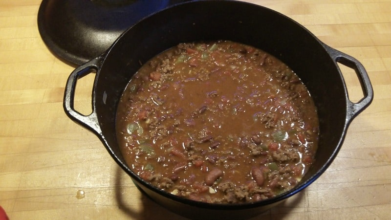 Cast Iron Cooking Try This Meaty Dutch Oven Chili Recipe