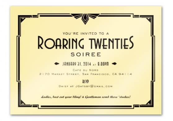 Ten Roaring '20's Party Must Haves