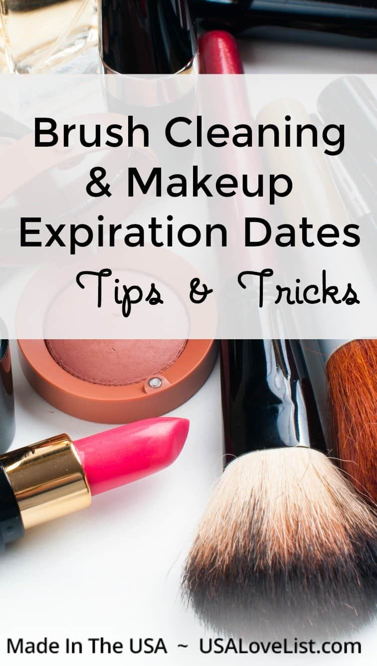 Beauty Product Care: Brush Cleaning and Makeup Expiration Dates