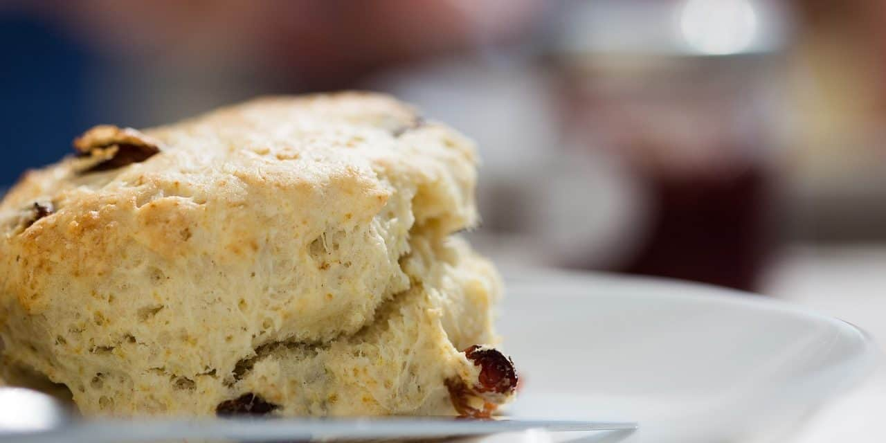 White Chocolate Blueberry Scones: Favorite Recipes Using a KitchenAid Mixer, Made in the USA