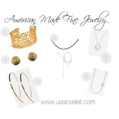 Six Sophisticated Selections from American Made Fine Jewelry