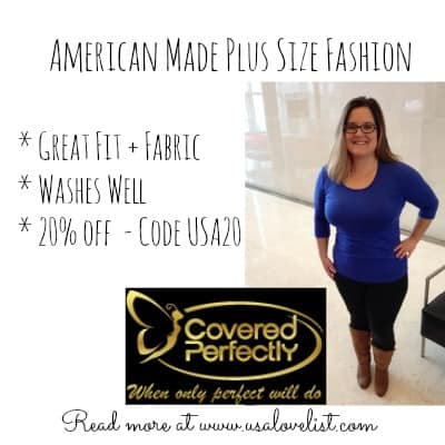 American Made Plus Sized Fashion Made Easy From Covered Perfectly