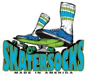 American Made Skater Socks