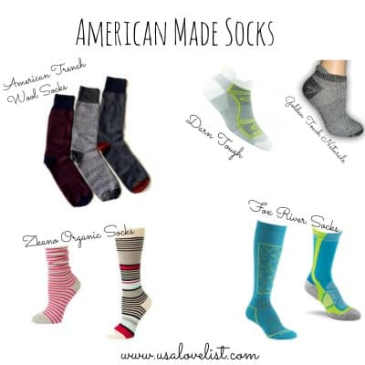 Six Sources For Made in USA Socks