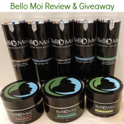 Bello Moi Cosmeceutical Anti Aging Treatments – Review & Giveaway