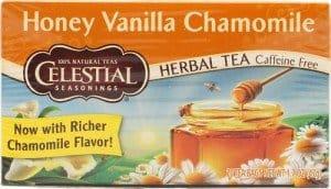 Celestial-Seasonings-Herbal-Tea-Caffeine-Free-Honey-Vanilla-Chamomile #madeinUSA