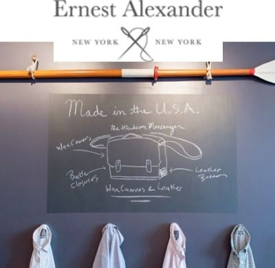 Ernest Alexander Mens Fashion American Made