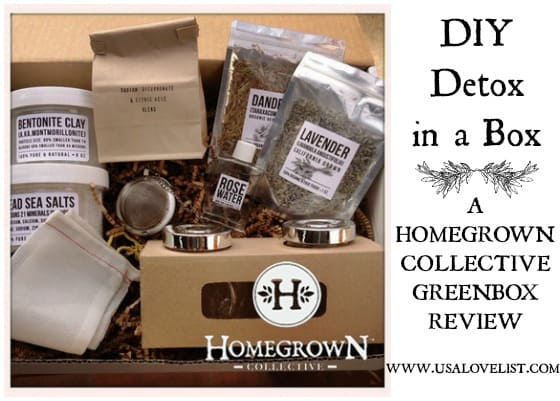 DIY Detox in a Box: A Homegrown Collective Greenbox Review