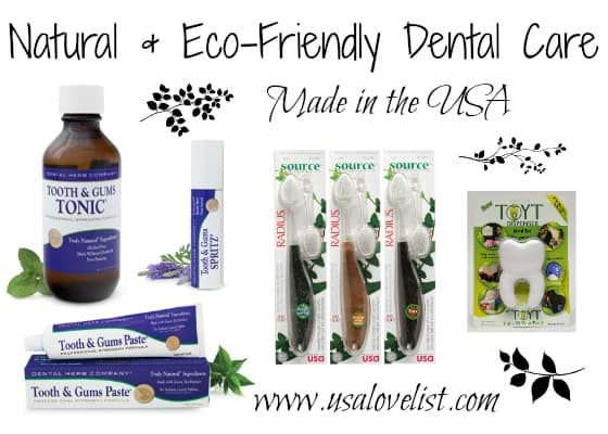 Three New Finds for Natural Dental Care, Made in the USA